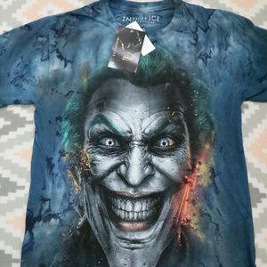 INJUSTICE Gods Among Us Joker Graphic Tee NWT